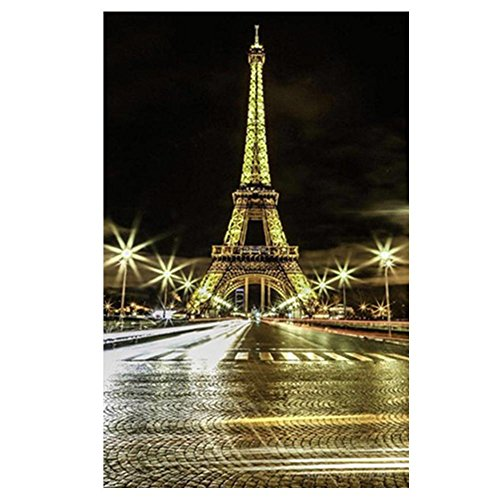Tomtopp 5D DIY Tower Diamond Painting Cross Mosaic Embroidery Stitch Craft Kit Gift