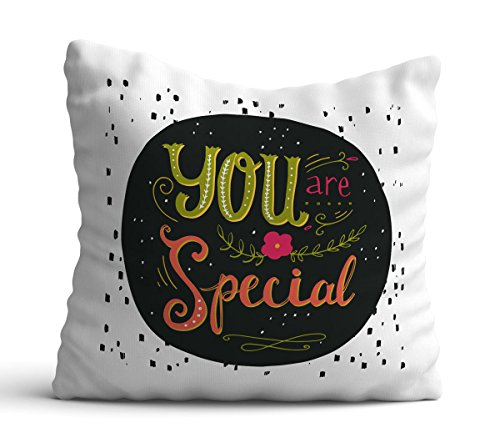 Giftcart You Are Special 12 X12 Inch Cushion Cover with Filler - Gift For Boyfriend|Gift For Husband|Gift For Wife|Gift For Girlfriend