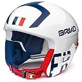 Briko - Helm VULCANO FIS 6.8 - FRANCE für mann und frau - 900 - SHINY WHITE - 56