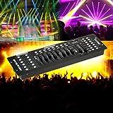 U`king 192 Kanäle DMX512 Controller Konsole Voice-aktiviert für Lichteffekt Bühnenlicht Party DJ Disco Betreiber Equipment (DMX512 Controller)