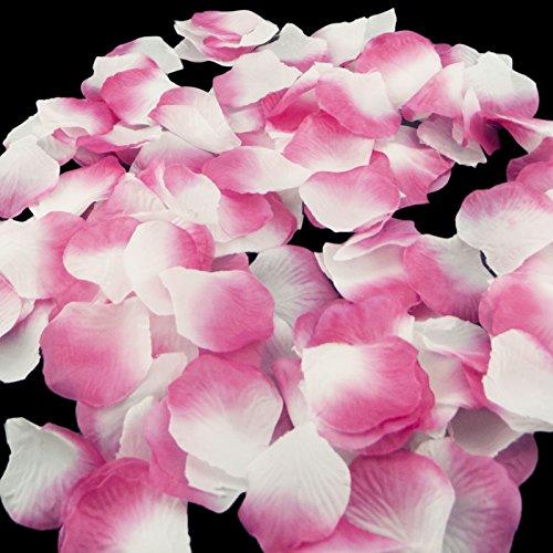 Blumen Rosenblätter Hochzeit Party Tischdekorationen, verschiedene Möglichkeiten (Sakura & White) (Braut Und Bräutigam Tisch)