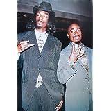 2Pac & Snoop Dog. Es un Maxi Poster PLASTIFICADO con unas medidas aproximadas de 91,5 x 61 cm.