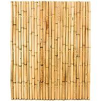 3 8 von 5 sternen 4 bambuszaun moso gelb starr mittels bambus verbunden gebleicht 150 x 120cm
