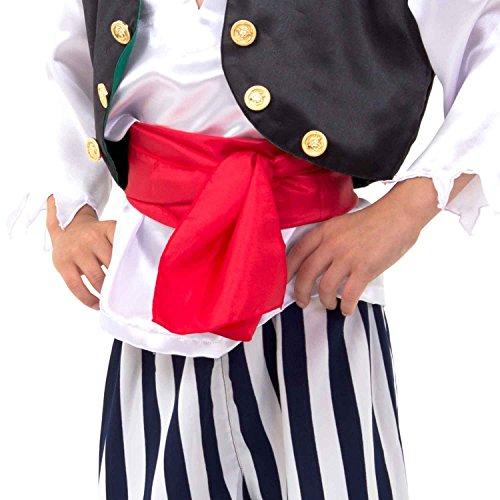 Imagen 2 de Lucy Locket - Disfraz de pirata para niño (5-6 años)