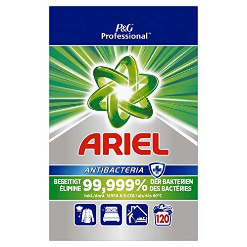 Ariel Professional Vollwaschmittel Pulver Antibakteriell 8kg- 120Waschladungen