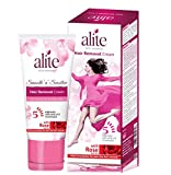 Alite Hair Removal Cream With Rose Water for Women 60g (Pack of 2)