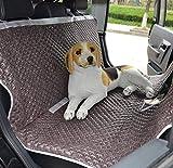 Pet Travel Pad Luxus wasserdichte Hundekatze Hängematte Sitzbezug mit Leder...