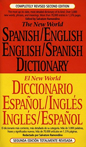The New World Spanish/English,English/Spanish Dictionary: Second Edition por Salvatore Ramondino