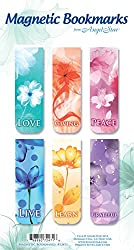 Angelstar 72471 Inspirational Magnetic Bookmark Set of 6, 2-1/2-Inch by Angel Star