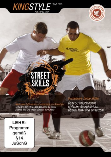 dvd-street-skills-kingstyle-fussball-trix-take-one-import-allemand