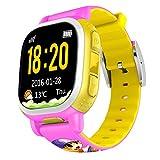 Bambini Smartwatch da polso Sim Watch iOS Android per antifurto chiamata di emergenza SOS GPS Tracker Bambini braccialetto Smartphone