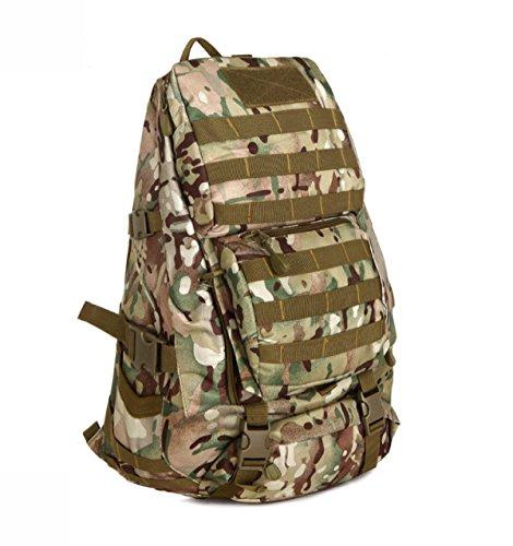 Mode Camouflage Multifunktions Outdoor Reise Tasche Bergsteigen Segeltuch Rucksack CPCamouflage
