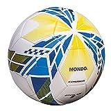 Mondo- Cosmos Pallone Calcio Cuoio, Colore Bianco, 13593