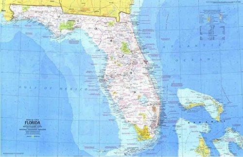 Reproduktion eines Poster Präsentation-USA-Florida 1(1973)-61x 81,3cm Poster Prints Online kaufen