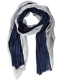 Scalpers Stripes Patch, Pashmina para Hombre, Blue, UNICA