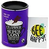CLIPPER - Preparato per Cioccolata Calda da Bere - con Cacao e Zucchero di Canna Biologici e Fairtrade - 250 gr - Delizioso Shop - amazon.it
