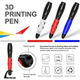 DigiHero 3D Pen for Kids,Toys for Kids 3D Pen with 1.75mm PLA Filament Pack of 12, Each Color 10 Feet, 3D Printing Pen with LED Screen is for Kids,Artist, Adults Upgraded Bild 3