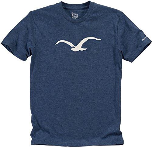 Cleptomanicx Herren T-Shirt Blau