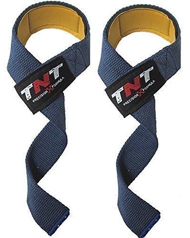 'VINTAGE' Original TNT PrecisionXFormula- PADDED Weight Lifting Straps Pro Padded