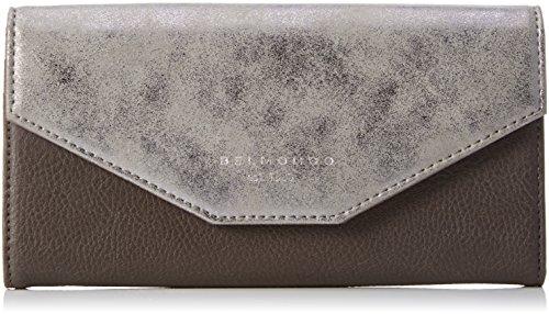 Belmondo 740237 03, Portafoglio Donna, Argento (argento combi), 19x11x2 cm (B x H x T)