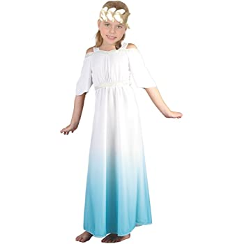 b25fb72be4a Fun World Costumes Greek Goddess Child Costume Size Medium (8-10 ...