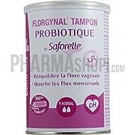 """Tampons Probiotiques Florgynal 9 tampons """"normal"""" avec applicateur Saforelle"""
