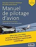 Manuel de pilotage d'avion et d'ULM - 6ème édition