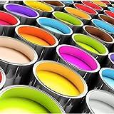 Bodenbeschichtung 10kg für 50qm 2K Epoxidharz farbig Garagenbeschichtung Industriebeschichtung Kellerbschichtung Lagerbeschichtung (RAL 9016 verkehrsweiss)