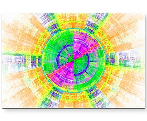 Abstraktes Bild – zirkuläres Design in bunten Farben