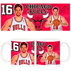 Taza NBA Chicago Bulls Pau Gasol