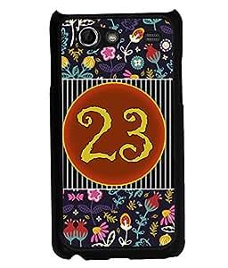 PrintVisa Metal Printed Numeric Designer Back Case Cover for Samsung Galaxy S Advance I9217-D4773