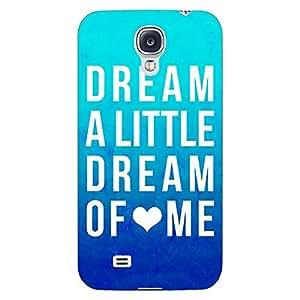 Jugaaduu Dream Love Back Cover Case For Samsung Galaxy S4 Mini I9192