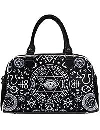 Bolso de mano prohibido de vestir Pentagram paso a un lado