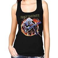 35mm - Camiseta Mujer Tirantes - Iron Maiden - Steve Harris - Women'S Tank Top