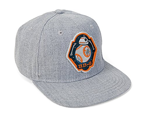 Star Wars VII: The Force Awakens BB-8 Boys Heather Snapback Gorra De...