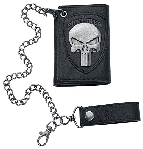 The-Punisher-Logo-Cartera-negroplata