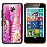OB-star ( Flower Of Hyacinth Dolichos ) NOKIA Lumia 630 Colorful Peau Imprimé Protection Dur Retour Housse Shell