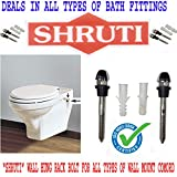 Shruti Wall Hung/Wall Mount Toilet Comord Rack Bolt Stand/Set (SS 204 Grade with Heavy Duty)- 1579