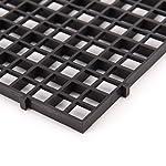BraveWind 2 Pcs White Grid Divider Tray Egg Crate Aquarium Fish Tank Filter Bottom Isolation Board Pane 13