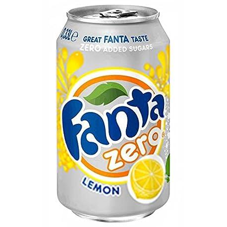 Fanta Citron Z ro 33cl pack de 24