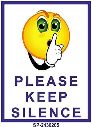 signageshop sp 2436205 flex please keep silence poster quiet clip art to color quiet clipart
