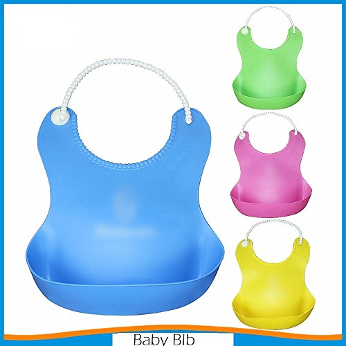 ZIZLY Silicon Baby Bibs Protecting Your Baby's Clothes for Food/Milk/Feeding/Water That Spills Will be Collected Baby Bibs/Bibbity