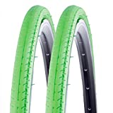 2x Kenda Rennrad Fixie Reifen Kontender K-196 26-622 700x26C Draht grün