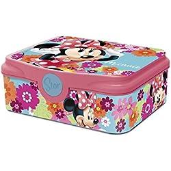 Box Colazione Minnie Mouse Topolina DECOR Scatola Spuntino Lunchbox Portamerenda Porta SANDWICH Bambini Scuola