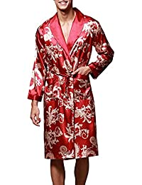 0b9a013f59 Amazon.co.uk  Red - Bathrobes   Nightwear  Clothing