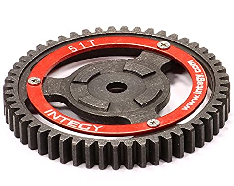 Integy RC Model Hop-ups T7097 V2 Steel Spur Gear for HPI Savage-X, 21 & 25 51T