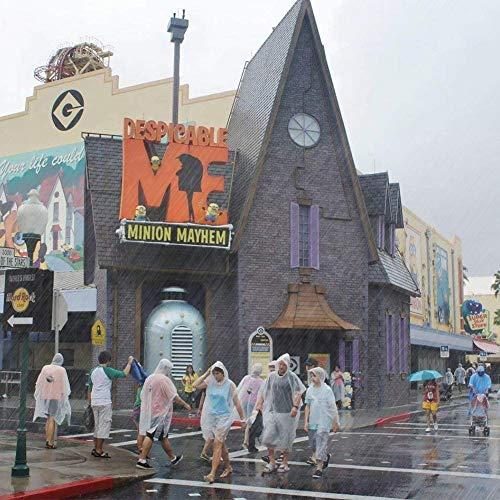 Poncho Antipioggia Poncho da Pioggia in portabile Impermeabile Monouso Raincoat DTNO.I Poncho Impermeabile Emergency Poncho Impermeabile Trasparente con Coulisse