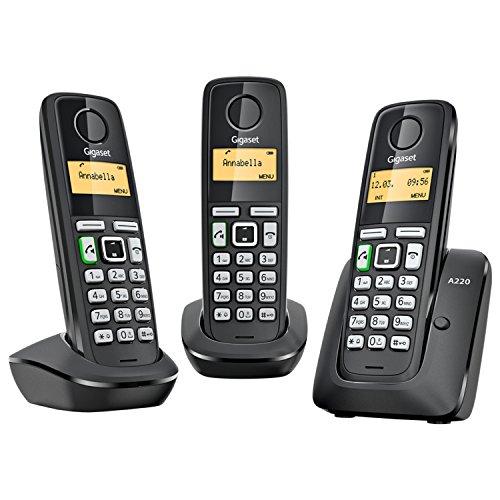 Teléfono inalámbrico Gigaset A220 Trio