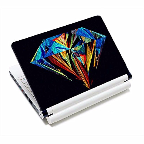 2pcs portátil nuevo piel cubiertas personalizadas adhesivo equipo negro,17 pulgadas portátil,piel