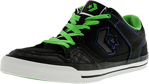 Converse Mens Coolidge Ox Ankle-High Fashion Sneaker Black, Green, Royal